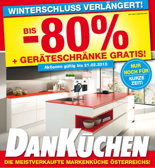Werbung Februar 2015 - DHaring Küchen und Wohndesign | {Küchenstudio werbung 2}